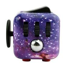 Image Is Loading Purple Space Starry Galaxy Sky Fidget Cube Anxiety