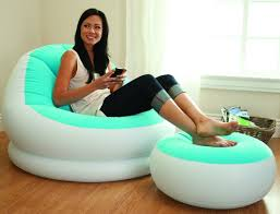 Intex Inflatable Sofa Uk by Inflatable Sofa Chair Bean Bag Soft Light Beanless Intex