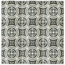 Home Depot Merola Penny Tile by Merola Tile Vintage Classic 9 3 4 In X 9 3 4 In Porcelain Floor