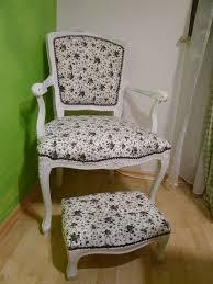 shabby chic stuhl und schemel nikalena
