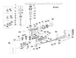 Bostitch Floor Stapler Problems by Bostitch Bt200 Parts List And Diagram Ereplacementparts Com