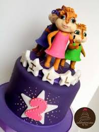 Alvin And The Chipmunks Cake Decorations Uk by Bendito Açúcar Iara Bolos Docinhos Modelados Pinterest Search