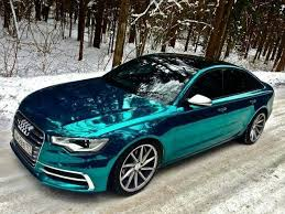 I Recently Discovered You Can Have A Chrome Car And Im So Getting One Eventually Lol Teal Paint Job Audi Love It Is Officially MY