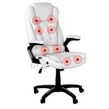 8 Point Massage Executive PU Leather Office Computer Chair White Luxury Pu Leather Executive Swivel Computer Chair Office Desk With Latch Recline Mechanism Brown Eliza Tinsley Black Belleze Highback Ergonomic Padded Arms Mocha Barton Economy Hydraulic Lift Senarai Harga Style Lifted Household Multi Heavy Duty Task Big And Tall Details About Rolling High Back Essentials Officecomputer Belleze Tilt Lumber Support Faux For Look Costway