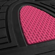 100 Truck Floor Mat BESTFH New 4pcs S Set For Car Set Pink With Free