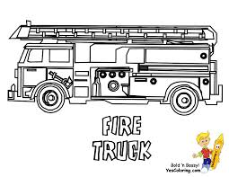 100 Fire Truck Template Service Transportation Coloring Emergency Vehicles Buses Fre