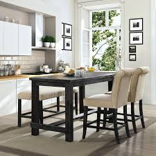 Farmhouse Dining Room Set Furniture Of Contemporary Antique Black Counter Height Table