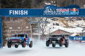 Red Bull Frozen Rush: 900hp Trophy Trucks Race On Snow - Moto Networks Watch This Ford Protype Sports Car Take On A Raptor Trophy Truck Red Bull Frozen Rush 2016 Race Results And Vod Vintage Offroad Rampage The Trucks Of The 2015 Mexican 1000 Hot Tearin It Up At Baja 500 In Trophy Truck Baja500 Baja Racing Google Search Pinterest 2008 Volkswagen Touareg Tdi Front Jumps Ghost Town Motor1com Photos 2017 Sunday 900hp On Snow Moto Networks Livery Gta5modscom New Drivin Dirty With Bryce Menzies