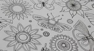 Secret Garden Stress Relieve Coloring Book Korean Version