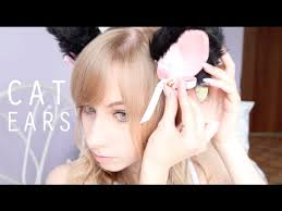 how to make cat ears easy realistic cat ears tutorial
