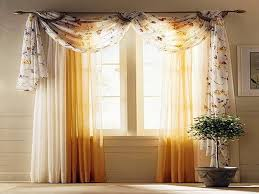 living room curtain ideas for bay windows modern interior white