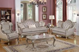 Elegant Traditional Antique Style Sofa Loveseat Formal Living Room