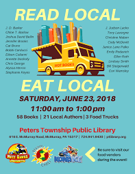 Library Prepares For Read Local/Eat Local Event - Peters Township ... Whats In The Bakery Truck Vintage Childrens Junior Start Right Custom Food Trucks New York Appealing Rc1iness Plan The Best Books Brantford Jane Jury Nashville Book Launch Party This Saturday Plus A Giveaway Truck Vector Logo Delivery Service Business Stock For Dummies Foodstutialorg Guerrilla Tacos Street With A Highend Pedigree The Salt Npr Food Wikipedia 5 For Entpreneurs Floridas Megans Parties Good Eats Review Dispatches Belfeast Brings Taste Of Russia To Washington Dc Galo Magazine How In 9 Steps