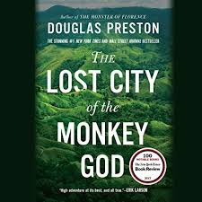 The Lost City Of Monkey God Audiobook Cover Art