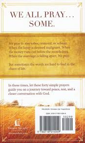 Pocket Prayers 40 Simple That Bring Peace And Rest Max Lucado 9780718014049