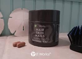Dorable It Works Hair Skin Nails Reviews Photo Nail Art Ideas