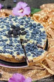 blaubeer pudding kuchen