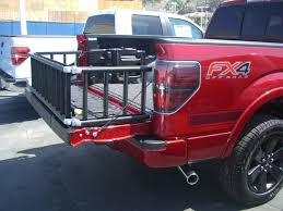 100 Truck Bed Ramp Ready Compact Extender Black 90 Open 50 On