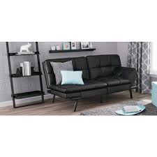 Walmart Furniture Living Room Sets by Mainstays Memory Foam Futon Multiple Colors Walmart Com