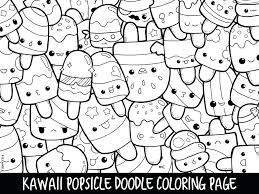 Kawaii Coloring Pages Free New Unicorn For Adults