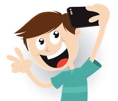 Selfie clipart picture taking 8