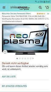 fernseher panasonic txp46gt30e plasma tv
