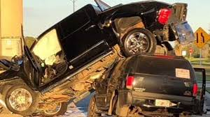 100 Truck Crashes Caught On Tape CAUGHT ON CAMERA Troopers Say A Drowsy Driver Caused A Crash At A