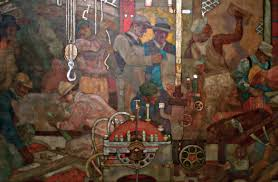 Diego Rivera Rockefeller Mural Analysis by Rockefeller Center Article Khan Academy