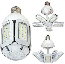 satco led 30w 5000k hid medium base light bulb