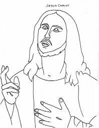 Free Printable Jesus Coloring Pages For Kids Regarding
