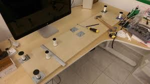 Monitor Shelf For Desk by 10cm Lift Desk Shelf Monitor Stand Ikea Hackers Ikea Hackers