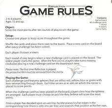 Board Game Rules Examples