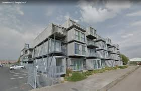 100 Containerized Homes Tour Seven Shipping Container Apartments With Google Streetview