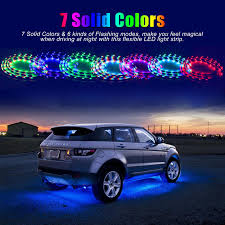Car LED Lights Strip With Remote, 252 LEDs Waterproof 7 Color LED ... Oracle Engine Bay Led Lighting Kit 60 Rear Brake Tailgate Light Strip Bar Truck Pickup For Suv Car Interior Multicolor 8 Steps With Pictures 20 Traxxas Emaxx Deluxe Set Rclighthouse Flow Strip Trunk Light Youtube Led Strips For Trucks Lights Decor How To Install Access Bed Color Chaing Strips With Remote Sale In Barnet Xkglow App Wifi Controlled Strip Undercar Under Body Ledambient Tuning Lights Breathe New Life Into Your Vehicle 60inch X 2 With 48 Redwhite Reverse Stop Turn
