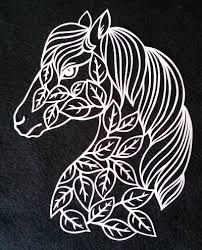 Horse with Leaves Permalink Page