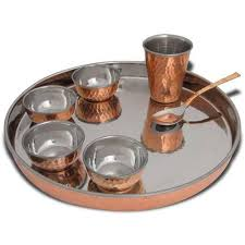 Buy Direct From India Online Shopping Dinnerware Set For One Thali Diposable Fine Dishes