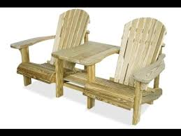 wood patio chair wood patio furniture building plans youtube