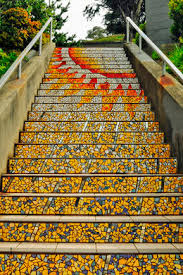 16th Avenue Tiled Steps In San Francisco by Secret Tiled Staircase U2013 San Francisco California Atlas Obscura
