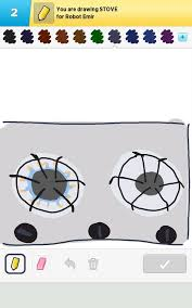 Draw Something Stove By B0mbini