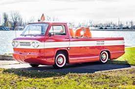 """First And Only """"Corphibian"""" Amphibious Corvair Truck Up For Auction 1961 Chevrolet Corvair Corphibian Amphibious Vehicle Concept 1962 Classics For Sale On Autotrader 63 Chevy Corvair Van Youtube Chevrolet Corvair Rampside Curbside Classic 95 Rampside It Seemed Pickup Truck Rear Mounted Air Cooled Corvantics 1964 Chevy Pickup Pinterest Custom Sideload Pickup Pickups And Trucks Pickup Cars Car"""