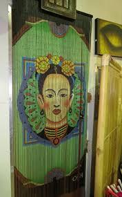 Bamboo Bead Curtains For Doorways by Bamboo Bead Curtain Frida Kahlo The Merchant Of Mogo