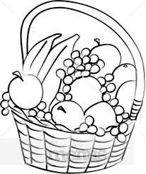 Ve able clipart fruit plate 6