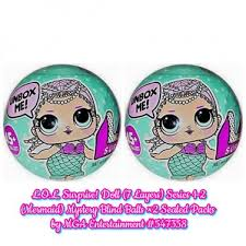 LOL Surprise Doll 7 Layers Series 1 2 Mermaid Mystery Blind Balls A
