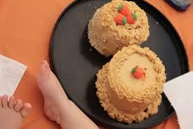 Paleo Maple Pumpkin Custard by Baby Birds U0027 Pumpkin Smash Cake With Cinnamon Frosting Gluten