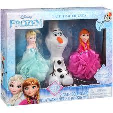 Disney Character Bathroom Sets by Disney Frozen Bath Time Friends Set 3 Pc Walmart Com