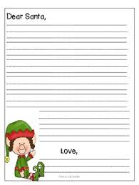 Letter to Santa Template FREE } by Dana Lester