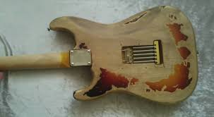 Stevie Ray Vaughan 1 Stratocaster DIY Relic Project Flukz