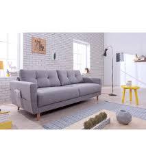 canapé en tissu gris canapé 3 places scandinave tissu gris clair stockholm canapés but