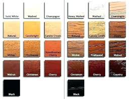 Dark Wood Stain Colors Of Furniture Oak Color Your Choice The Following