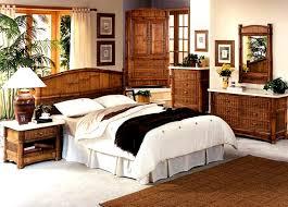 Bamboo Bedroom Furniture Model Bc600 Tropical Rattan Sets
